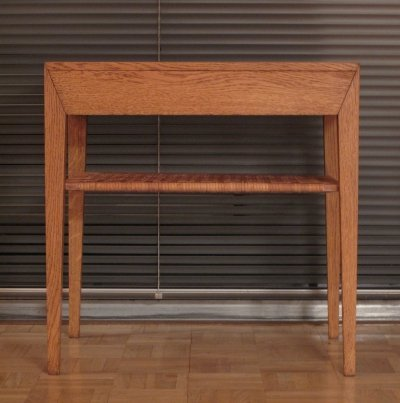 Severin Hansen Oak & Rattan Bedside Table