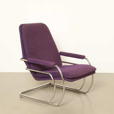 Model 301 lounge chair by Jan des Bouvrie for Gelderland, 1970s