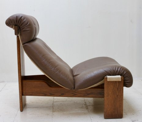 Seventies lounge chair by Durlet, Belgium