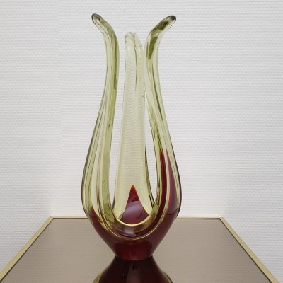 Murano Abstract Glass Table Sculpture