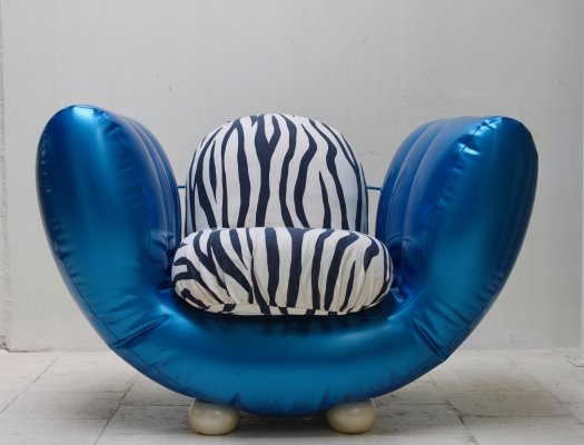 Floating Mathilda blow up lounge chair by Edra, 1990s