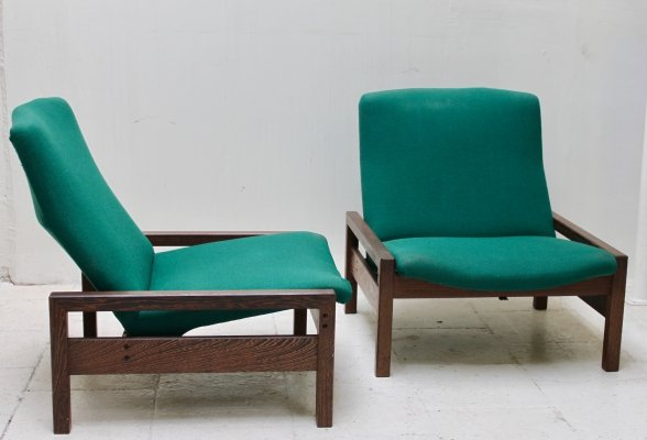 Set of 2 lounge chairs by Georges Van Rijck for Beaufort, 1960's