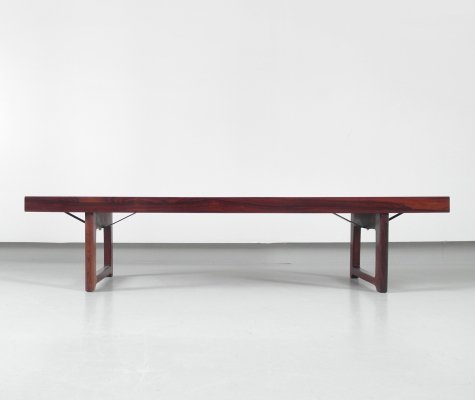 Krobo Bench | Side Table by Torbjørn Afdal for Bruksbo Norway, 1960s