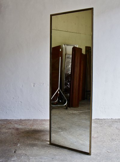 1960's Salvaged Full Size Mirror