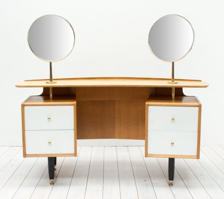 1960s Oak Dressing Table by Victor Wilkins for G Plan
