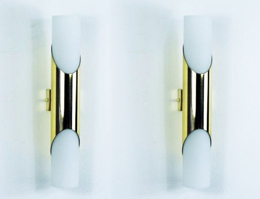 Pair of wall lamps by Paul Neuhaus for Neuhaus Leuchten, 1970s