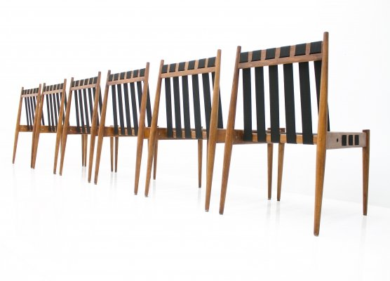 Large Set of 60 Chairs SE 121 by Egon Eiermann, 1964