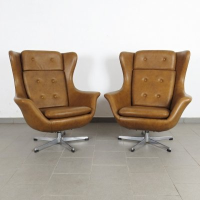 Pair of UP Závody arm chairs, 1970s