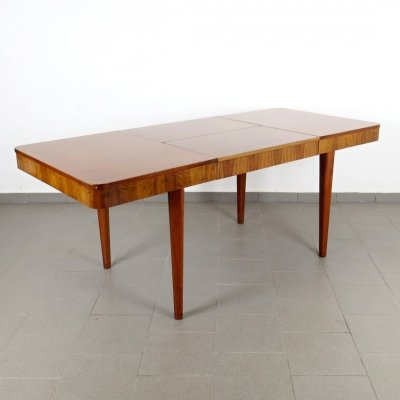 Dining table by Jindřich Halabala for Spojene UP Zavody, 1950s