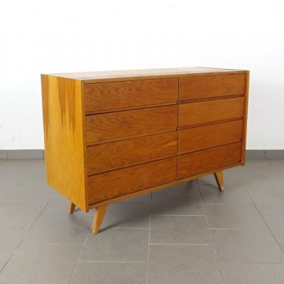 2 x chest of drawers by Jiří Jiroutek for Interier Praha, 1960s