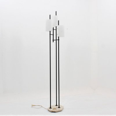 Mid century Italian design 3 arms floor lamp