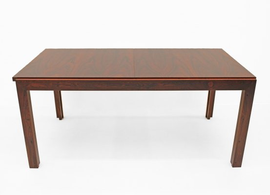 Exceptional design table in Brazilian Rosewood, 1970s