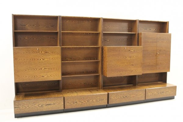 Vintage wall unit, 1970s