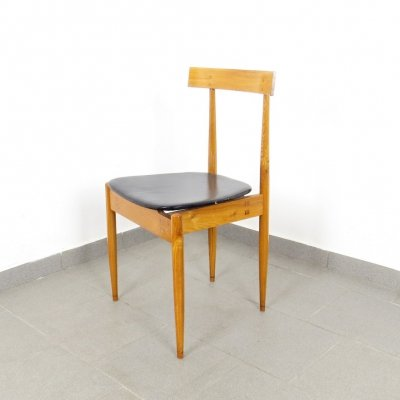 Set of 6 dining chairs by Alan Fuchs for ÚĽUV, 1960s