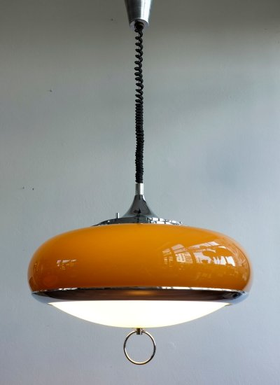 Hanging lamp by Guzzini Design Team for Meblo, 1970s