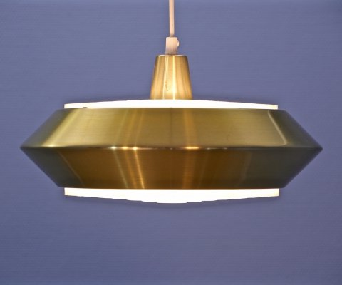 Danish pendant in brass, 1960s