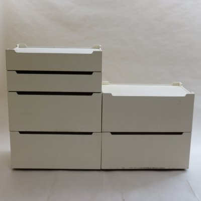 Modular 'Switch' Storage Drawers by Christien Sell, 1970s