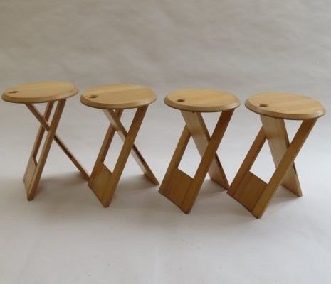 4 x Suzy Stool by Adrian Reed for Princes Design Works, 1980s