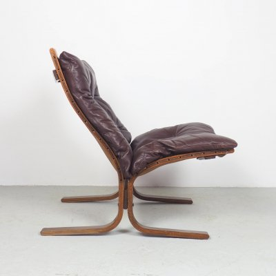 Rosewood Siesta lounge chair by Ingmar Relling for Westnofa, 1960's