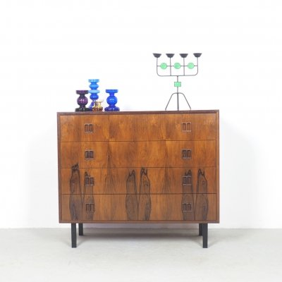 Rosewood chest of drawers by Dyrlund, 1960's