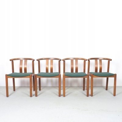 Vintage teak dining chairs by Uldum, 1960's