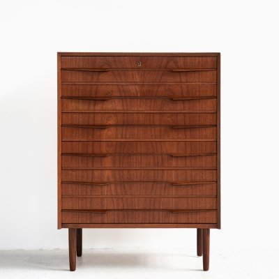 Midcentury Danish chest of 6 drawers in teak, 1960s