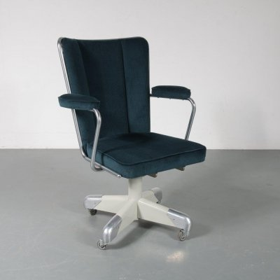 President desk chair by Christoffel Hoffman for Gispen, The Netherlands 1950s