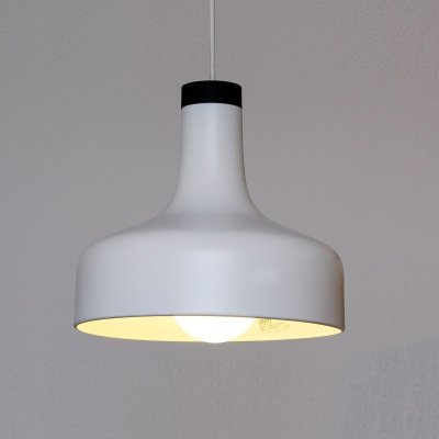 5 x White & Black Hanging Lamp by Staff