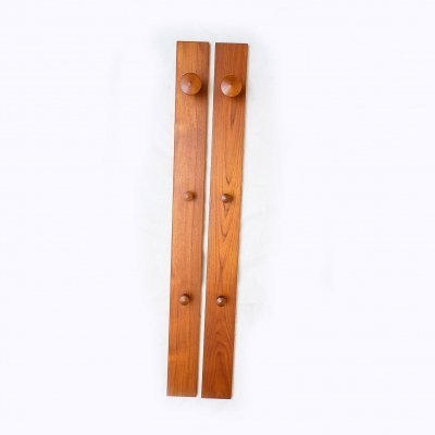 Teak Coat Rack by Kai Kristiansen for Aksel Kjersgaard, 1960s