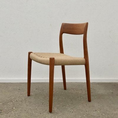 Niels Otto Møller 'model 77' dining chair, 1960s