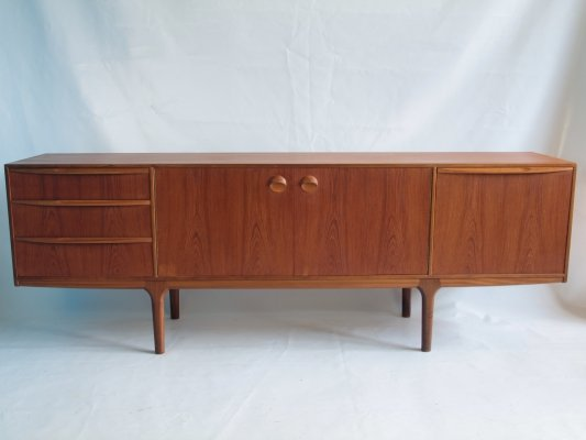 Torpedo sideboard by Tom Robertson for Mcintosh Scotland, 1960s