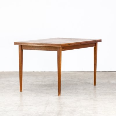 60s Extendable teak dining table
