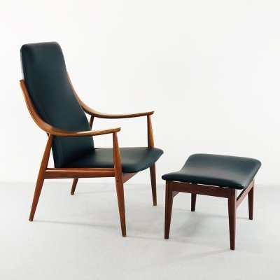Model 146 Armchair by Peter Hvidt for France & Son, 1950s