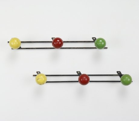Industrial coat racks, France 1950/1960