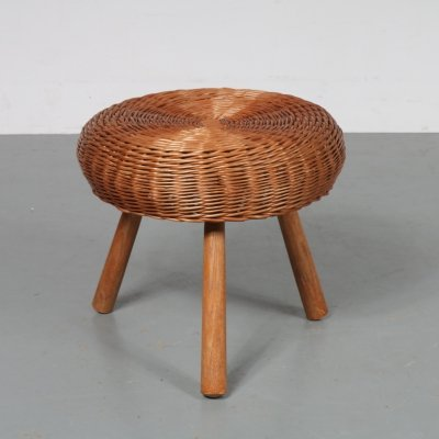 Tripod stool by Tony Paul, USA 1950s