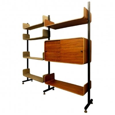 Shelving Unit by Franco Campo & Carlo Graffi, Italy 1960s