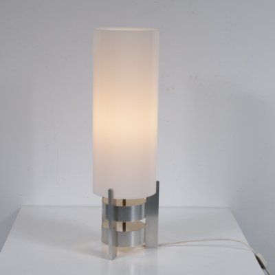 Aluminium table lamp by Artiforte, the Netherlands 1960s