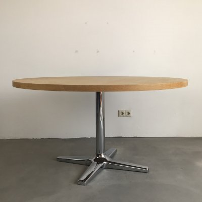 Vintage Round Pastoe Dining Table, 1970s