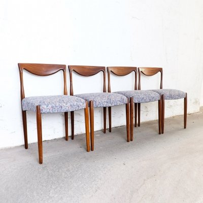 Set of 4 Mid Century Chairs, 1950s