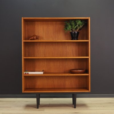 Scandinavian design bookcase in teak