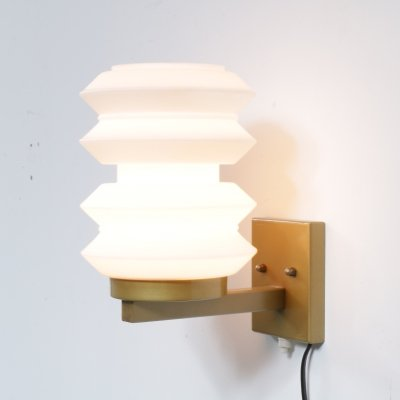 Sculptural Dutch wall lamp by Raak, the Netherlands 1950s