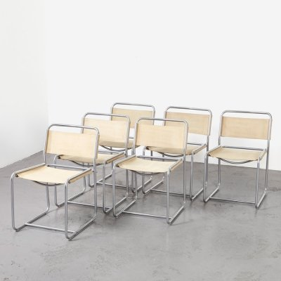 Set of 6 'SE18' Dining Chairs by Claire Bataille & Paul Ibens for 't Spectrum, 1971