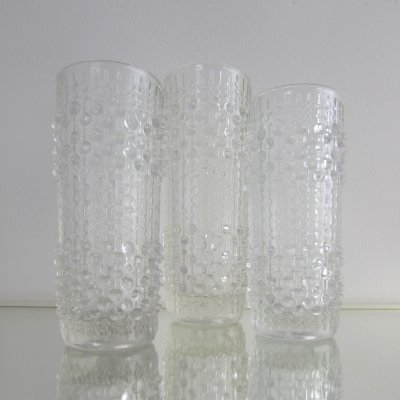 Set of 3 Candle Wax Vases by Frantisek Peceny, 1970's