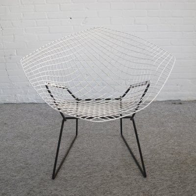 Diamond lounge chair by Harry Bertoia for Knoll International, 1950s