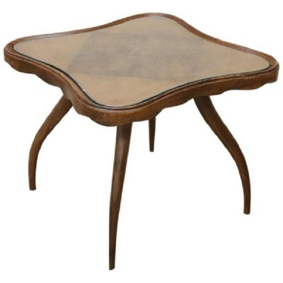 Vintage Coffee Table by Osvaldo Borsani, 1940s