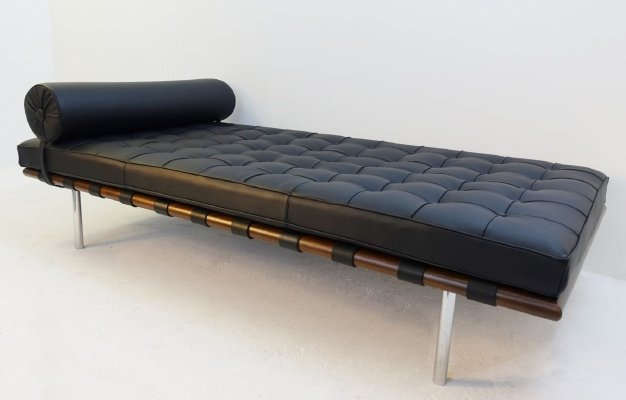 'Barcelona' daybed by Mies Van Der Rohe for Knoll