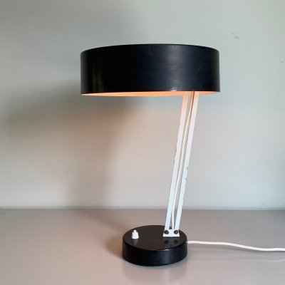 Model 146 desk lamp by H. Busquet for Hala Zeist, 1960s