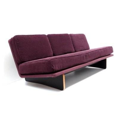 Vintage 'Model 671' Artifort sofa by Kho Liang Ie with corduroy upholstery