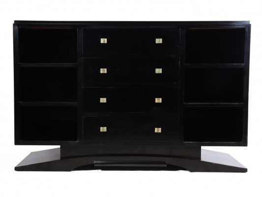 Art Deco Sideboard with Piano Black Lacquer finish