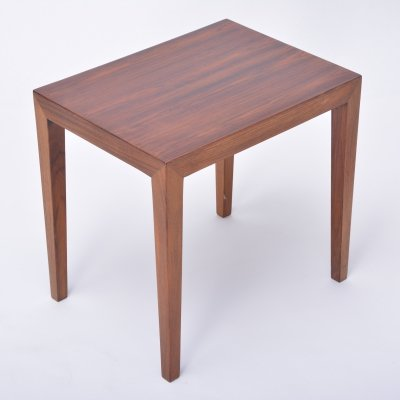 Vintage Rosewood Side Table by Severin Hansen